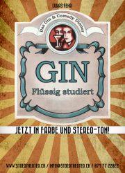Plakat Gin